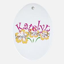 Katelyn Oval Ornament
