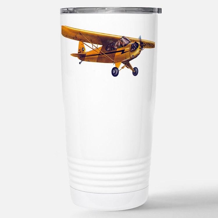 Cute Piper aircraft Travel Mug