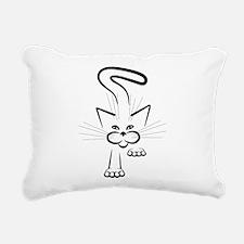 Stealth Attack! Rectangular Canvas Pillow