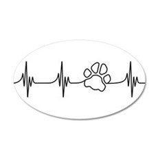 Paw Beat Wall Decal