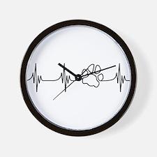 Paw Beat Wall Clock