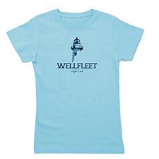 Wellfleet - Cape Cod Massachusetts. Girl's Tee