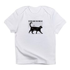 Petting chart for your Cat Infant T-Shirt