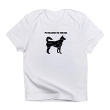 Petting chart for your Dog Infant T-Shirt