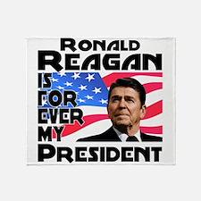 Reagan 4ever Throw Blanket