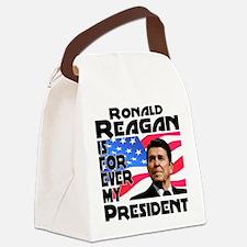 Reagan 4ever Canvas Lunch Bag