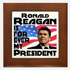Reagan 4ever Framed Tile