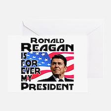 Reagan 4ever Greeting Card