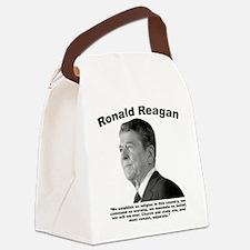 Reagan: Religion Canvas Lunch Bag