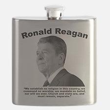 Reagan: Religion Flask