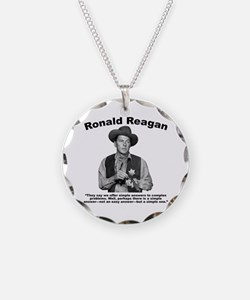 Reagan: Answers Necklace