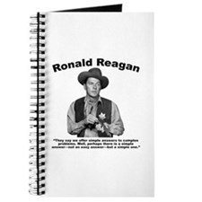 Reagan: Answers Journal