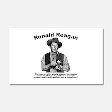 Reagan: Answers Car Magnet 20 x 12