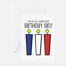All-American Caroline Greeting Cards (Pk of 10