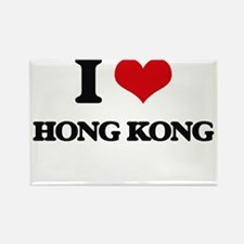 I love Hong Kong Magnets