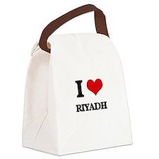 I love Riyadh Canvas Lunch Bag