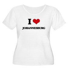I love Johannesburg Plus Size T-Shirt