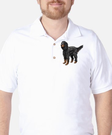 Gordon Setter Golf Shirt