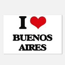 I love Buenos Aires Postcards (Package of 8)