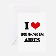 I love Buenos Aires Greeting Cards