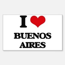 I love Buenos Aires Decal