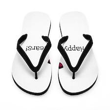 Happy New Years Flip Flops