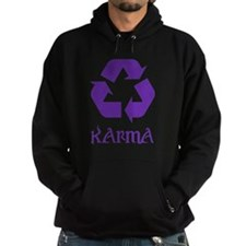 Karma Recycle What Goes Around Comes Hoodie