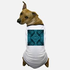 Teal Mind Warp Dog T-Shirt