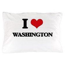 I love Washington Pillow Case