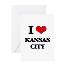 I love Kansas City Greeting Cards