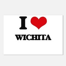 I love Wichita Postcards (Package of 8)