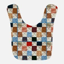 Colorful quilt pattern Bib