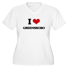 I love Greensboro Plus Size T-Shirt