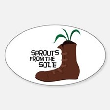 Sprouts From The Sole Decal