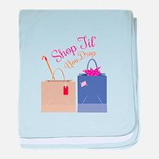 Shop Til You Drop baby blanket