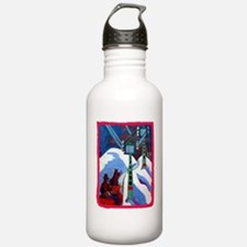 The Sleigh Ride by Ern Water Bottle