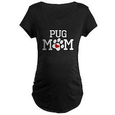 Pug Mom Maternity T-Shirt