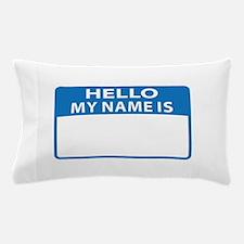 NAME DROP NAME TAG Pillow Case