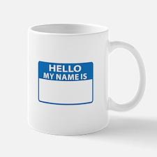 NAME DROP NAME TAG Mugs