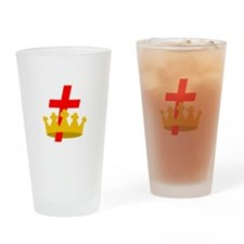 KNIGHTS TEMPLAR Drinking Glass