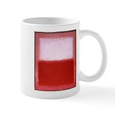 ROTHKO RED AND WHITE Mug