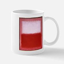 ROTHKO RED AND WHITE Small Small Mug