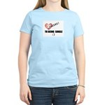 CHEERS TO BEING SINGLE Women's Light T-Shirt