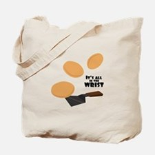 In The Wrist Tote Bag