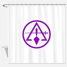 ROYAL AND SELECT MASTERS CIRCULAR Shower Curtain