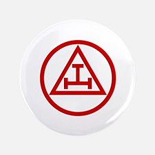 """ROYAL ARCH MASONS CIRCULAR 3.5"""" Button"""