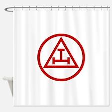 ROYAL ARCH MASONS CIRCULAR Shower Curtain