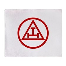 ROYAL ARCH MASONS CIRCULAR Throw Blanket