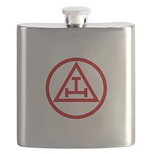 ROYAL ARCH MASONS CIRCULAR Flask