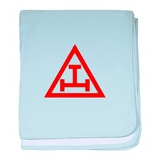 ROYAL ARCH MASONS baby blanket